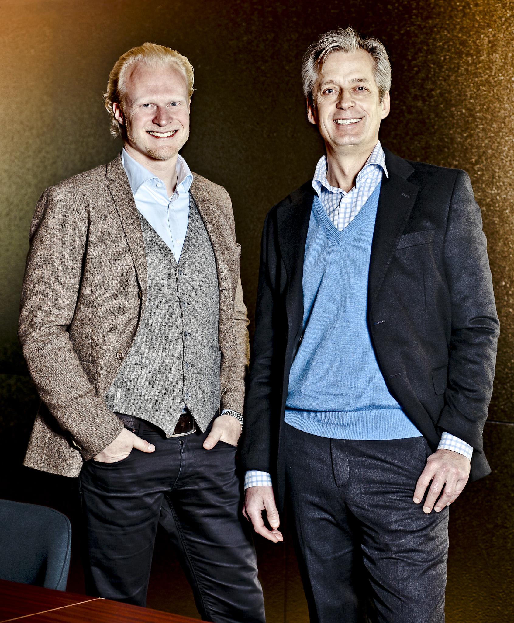 Magnus Toll och Richard Berg